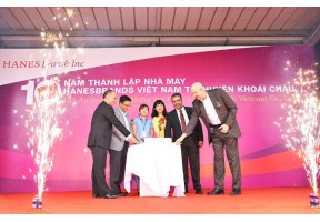 Hanesbrands Vietnam Celebrates A Decade Of Steady Growth In Vietnam