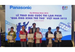Kid Witness News Vietnam 2015 Contest Award Ceremony